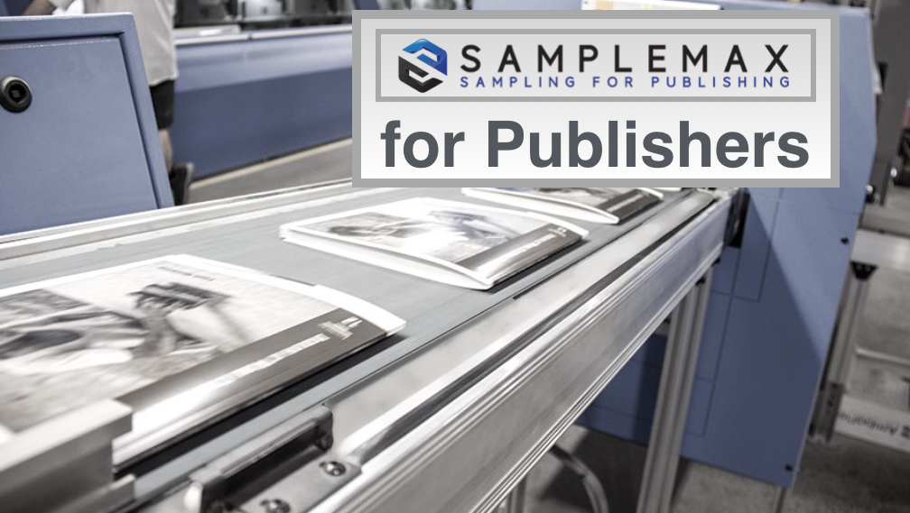 SampleMax onser for Magazine Publisher