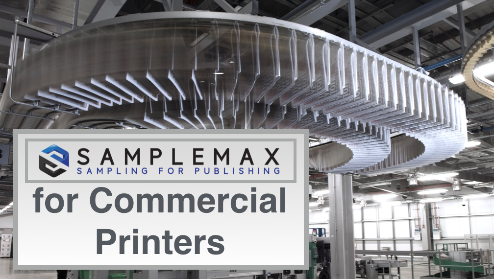 SampleMax Onsert for Commercial Printer
