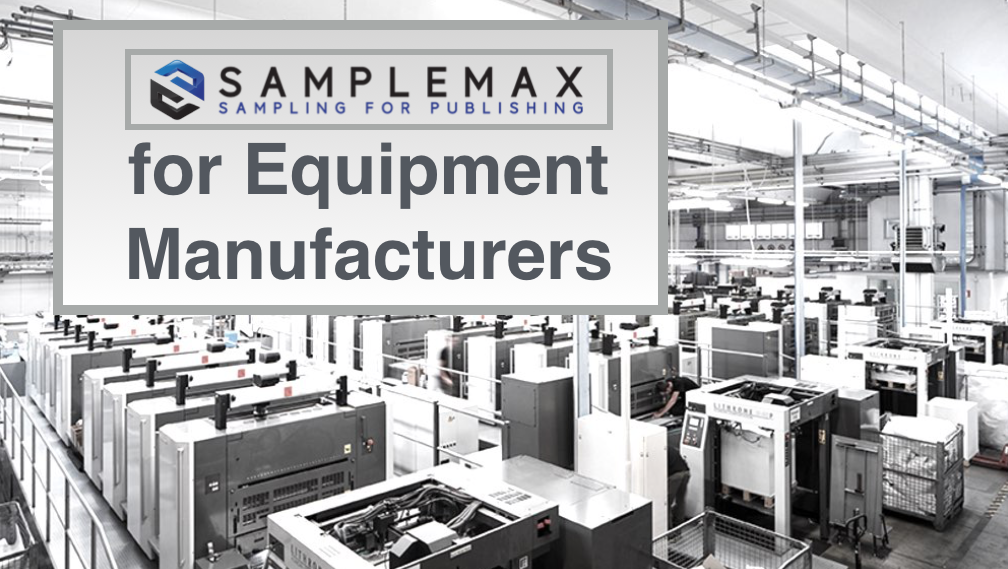 SampleMax Onsert for Printing Equipment OEM
